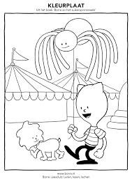 Uit Het Boek Borre En Het Suikerspinnenweb Kleurplaten In