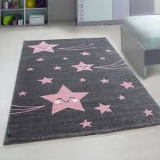 rug pink and grey childrens play carpet