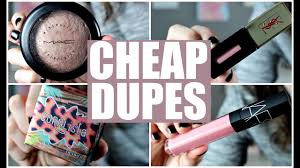 dupes for high end