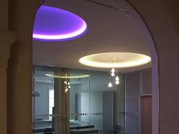 indirect light fluorescent recessed