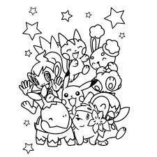 Pokemon Kleurplaten Gratis Kleurplaten En Kinderen Kleuren