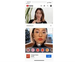 ar beauty try on lets viewers virtually