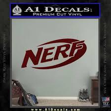 Nerf Logo Decal Sticker A1 Decals