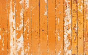 Orange Flaky Paint On A Wooden Fence Stock Photo Picture And Royalty Free Image Image 23522538