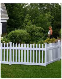 Hoity Toity Brand New In The Box White Pvc Picket Fence Facebook