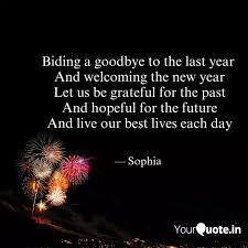 biding a goodby quotes writings by sophia yourquote
