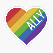 Gay Ally Stickers Redbubble