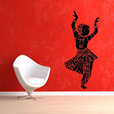 Ballet Wall Decal With Name Large Dance Uk Highland Dancer Art For Kids Stickers Little Silhouette Vamosrayos