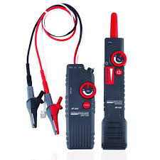 Underground Cable Locator Wire Locator Network Tester Break Finder For Pet Fence Wires Sprinkler Control Wire Metal Pipe Electrical Telephone Wire Coax Cable Hidden Wire Buried Wires