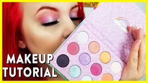 x colourpop palette eyeshadow tutorial