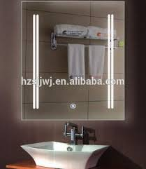 touch screen bathroom mirror led light