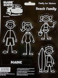 Decals Stickers Maine Scene
