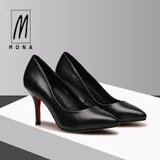 85 77 mona s fashionable slim heeled