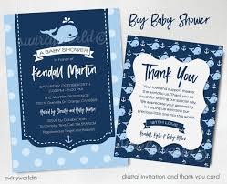 digital baby whale nautical theme boy s