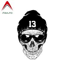 13 Skull Hat Streetbadge
