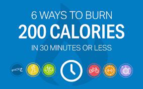 6 ways to burn 200 calories in 30