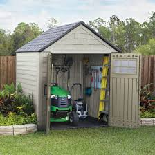 rubbermaid 7 ft x 7 ft storage shed by