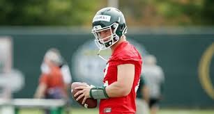 Backup QB Rocky Lombardi is now MSU's punter and even his dad was surprised  by debut