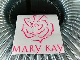 Mary K Flower Sticker Vinyl Decal For Car And Others Ebay