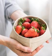 fruit bowls with decorative centerpiece