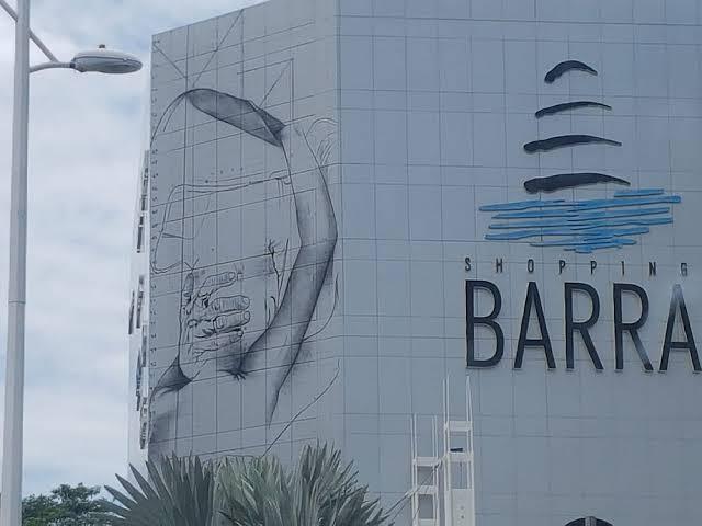 """Resultado de imagem para Irmã Dulce imagem grafitada na Barra"""""""