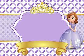 Pin De Festa Da Princesa Sofia Blog Em Convite Para Festa Da