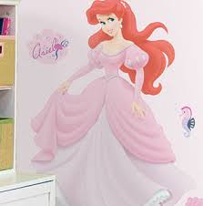 Decorating With The Little Mermaid Decals And Murals Wall Sticker Outlet Design Blog