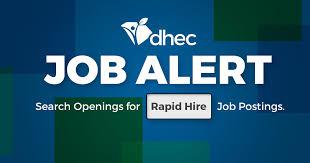 jobs careers scdhec