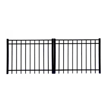 China Factory Supply House Garden Door Iron Gate Wrought Iron Gate China Door Aluminum Gate