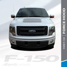 Force Hood Digital 2009 2014 Ford F 150 Hood Appearance Package Style Vinyl Graphic Screen Print Decal Kit Speedycardecals Fast Car Decals Auto Decals Auto Stripes Vehicle Specific Graphics