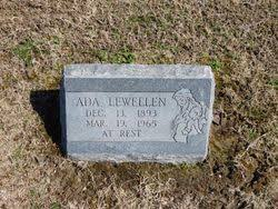 Ada Newman Lewellen (1893-1965) - Find A Grave Memorial