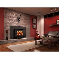 wood burning fireplace insert safe and