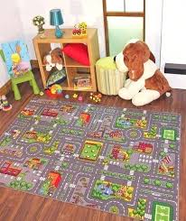 rugs rugs town road map city rug play