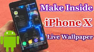 live wallpaper inside iphone