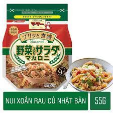 Nui xoắn rau củ Macaron gói 150G Nhật Bản cho bé lười ăn rau củ ...