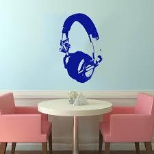 Shop Headphones Vinyl Wall Decal Overstock 8569524