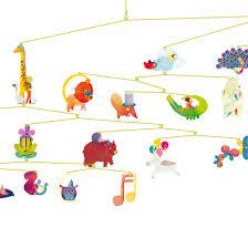 Djeco Little Big Room Mobile Carnaval Des Animaux