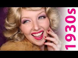 1930s makeup tutorial
