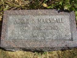 Addie Bell Scott Marshall (1884-1913) - Find A Grave Memorial