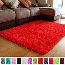 Pagisofe Soft Girls Boys Room Rug Bedroom Nursery Decorative Carpet 4 X 5 3 Red Pagisofe Soft Girls Boys Ro Boys Room Rugs Kids Bedroom Carpet Bedroom Rug