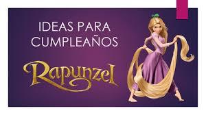 50 Ideas Para Cumpleanos Rapunzel Youtube