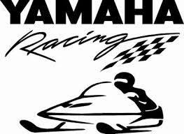 Yamaha Racing Snowmobile Vinyl Decal Misc Decals