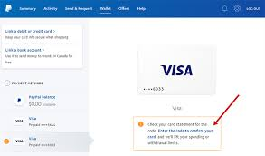 paypal verification paypal vcc