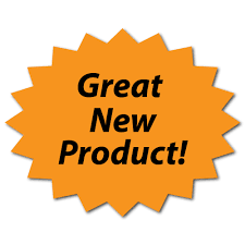 Great New Product Fluorescent Orange Stickers
