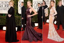 2013 Golden Globes Dresses: See Adele, Taylor Swift, Jennifer ...