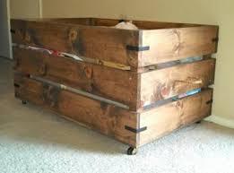 diy wood box wood toy box diy toy storage