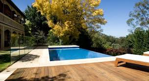 Infinity Edge Pools Producing Visual Effects Backyard Fences Fence Design Modern Fence