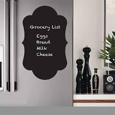 Chalkboard Fridge Decal For Kitchen Decor Chalkboard Vinyl Wall Decal For Refrigerator Decoration Free Shipping B2016 Decals For Kitchen Fridge Decalswall Decals Aliexpress