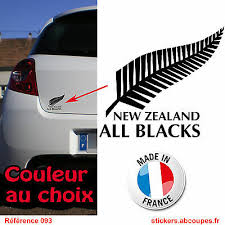 Decal Sticker All Blacks New Zealand Rugby 093 Ebay
