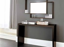 ideas to decorate glass modern console